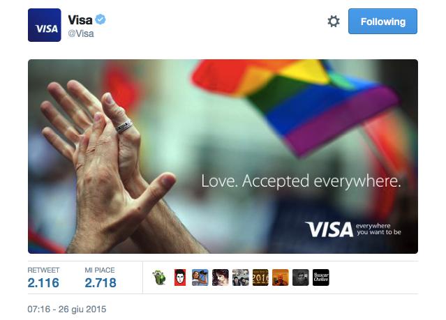 love wins VISA