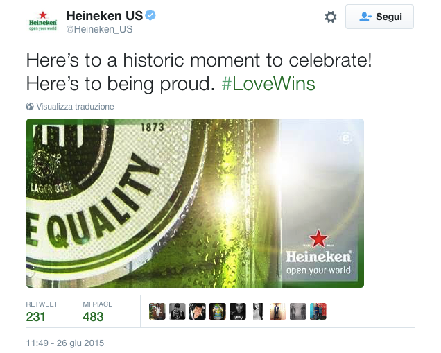 love wins heineken equality