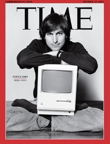 Steve Jobs Time copertina