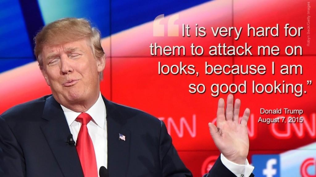 donald trump good looking