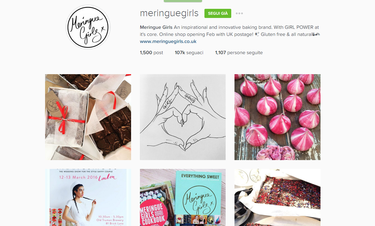 instagram meringue girls
