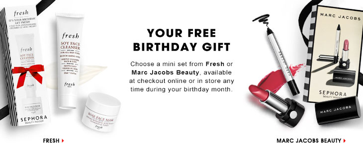 sephora free gift compleanno