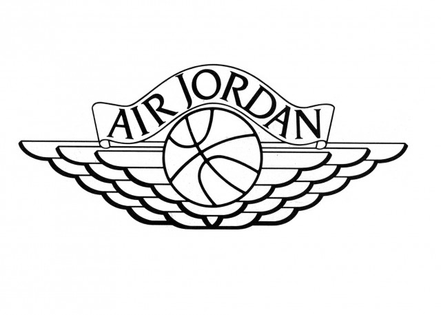 Air Jordan Nike Logo Original