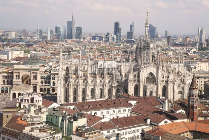 #SMDAYIT - Vista sul Duomo di Milano