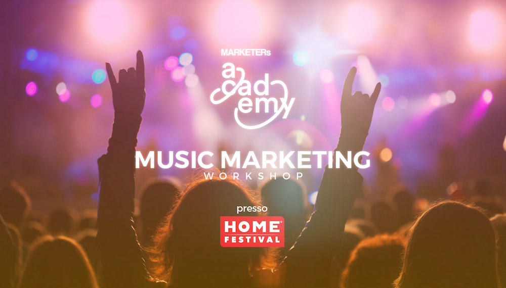 Music Marketing Workshop MARKETERs Academy e HOME Festival