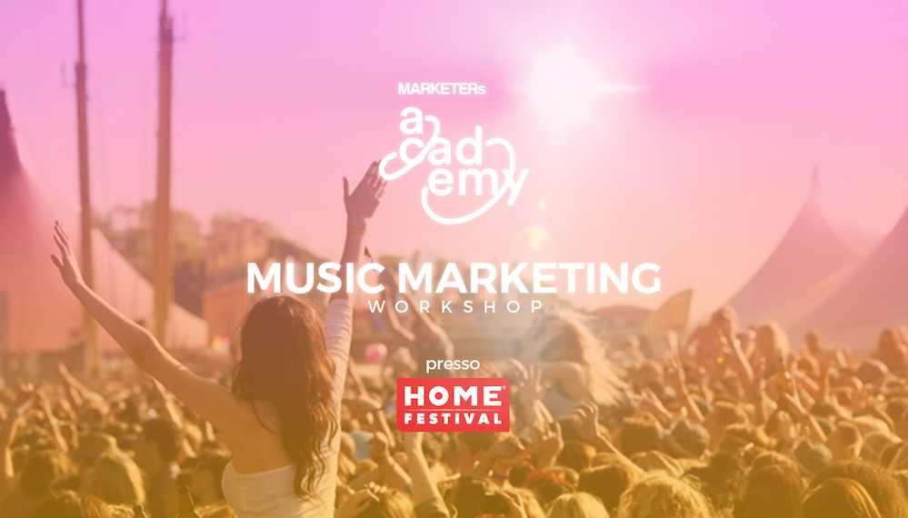 music marketing MARKETERs Home Festival