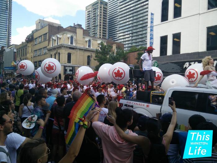 Air Canada Pride Parade