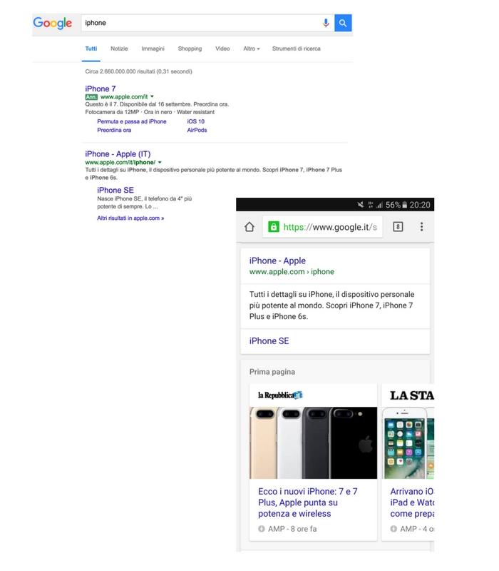 SEO Mobile Desktop e Mobile