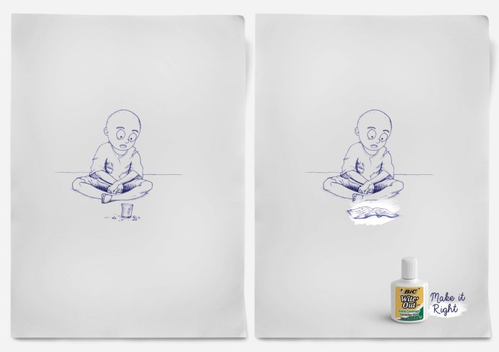 bic campaign witeout