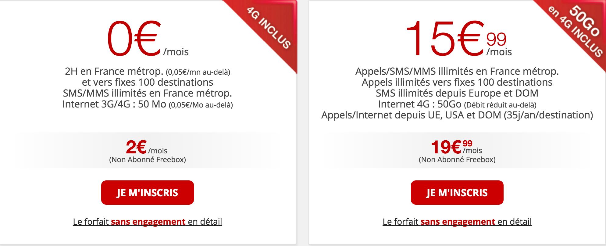 free mobile offerta