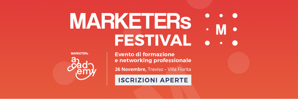 MARKETERs Festival Formazione Marketing
