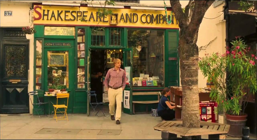 Midnight in Paris Shakespeare and Company