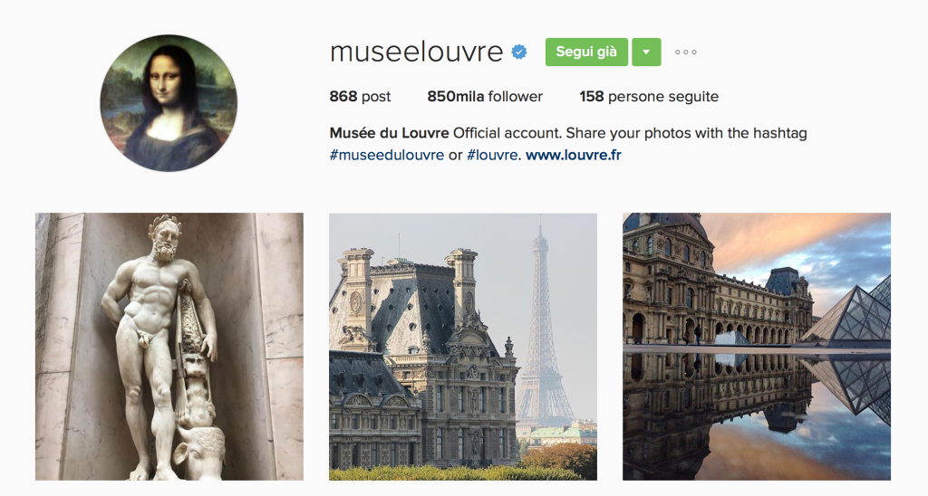 Louvre Instagram - This MARKETERs Life