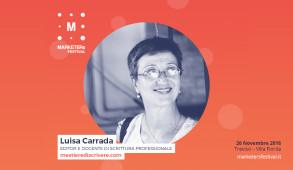 Luisa Carrada Il Mestiere di Scrivere