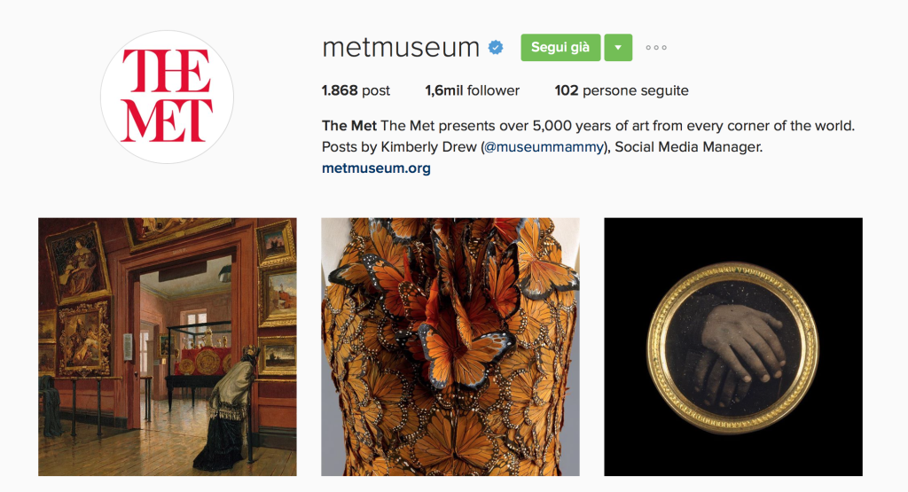 Met Museum Instagram - This MARKETERs Life