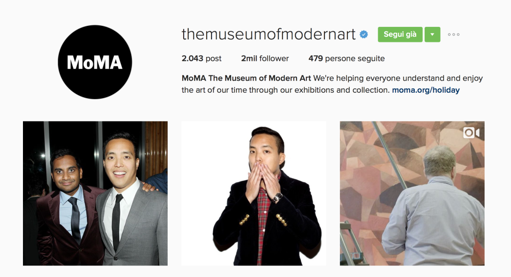 MoMA Instagram - This MARKETERs Life