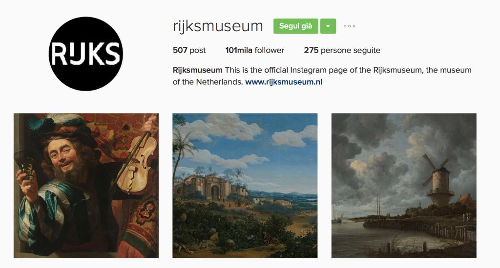 Rijksmuseum Instagram - This MARKETERs Life