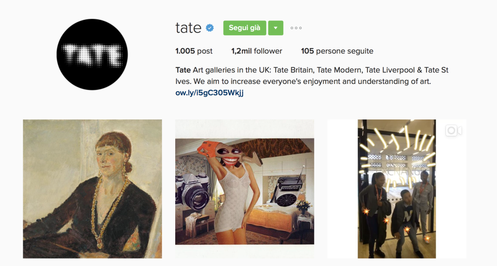 Tate Museum Instagram - This MARKETERs Life