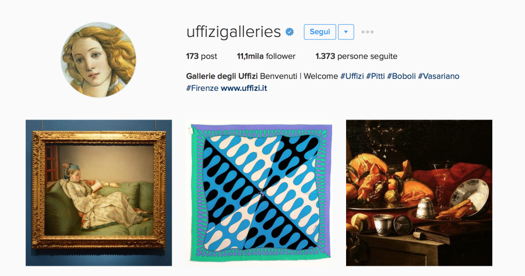 Uffizi Instagram - This MARKETERs Life
