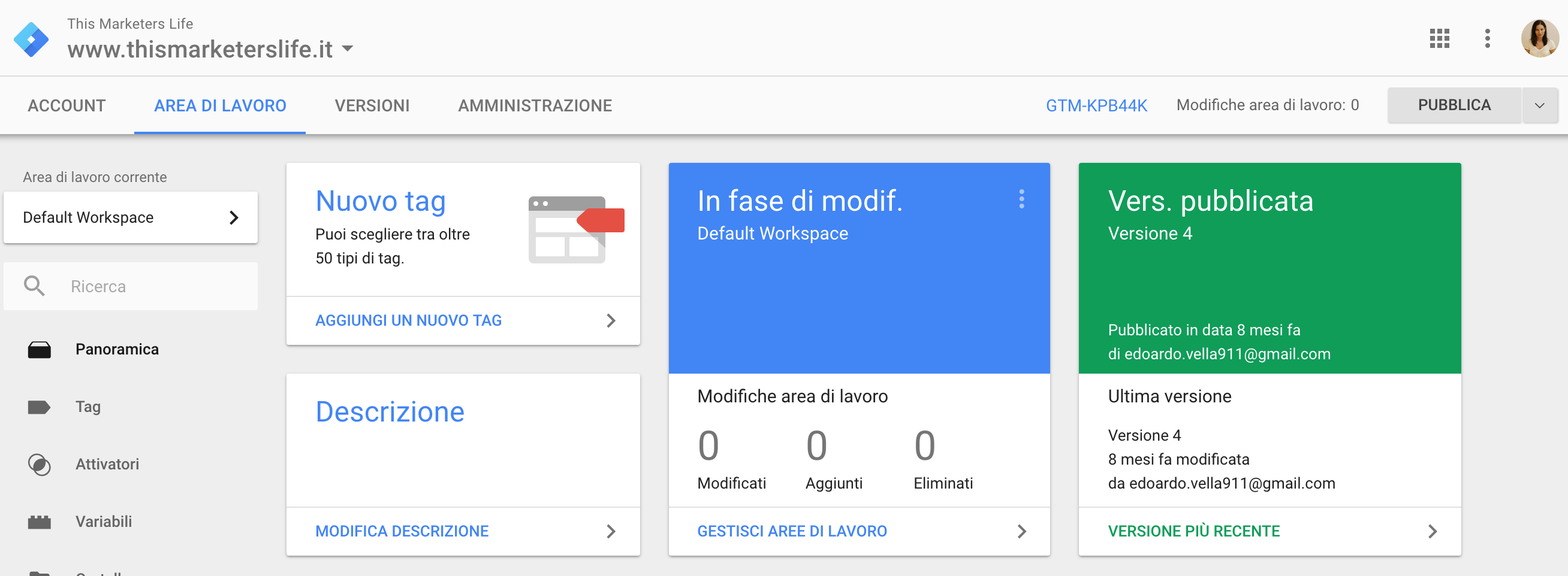 Cos'è Google Tag Manager