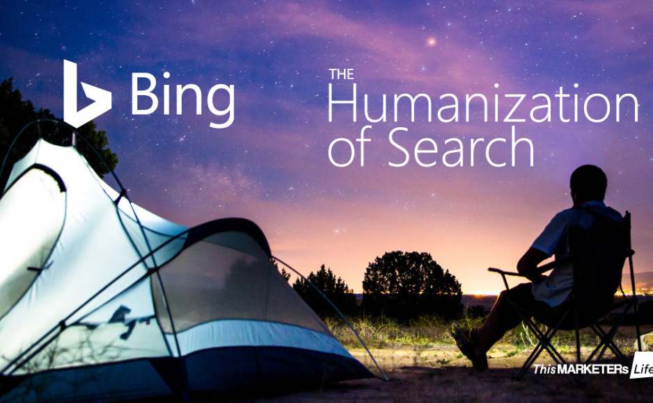 bing humanization of search