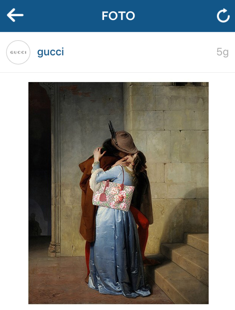 Instagram Gucci