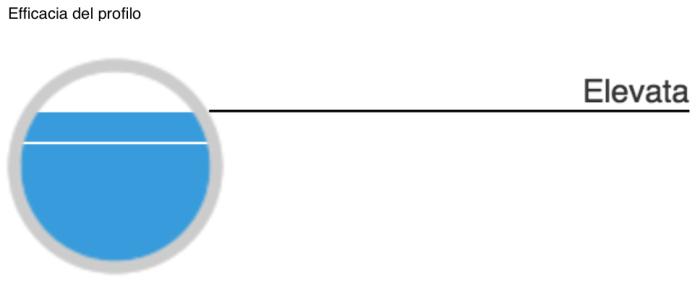 Indicatore efficacia del profilo