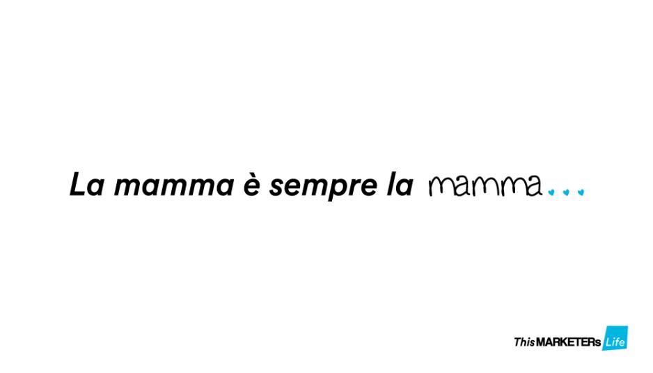 Festa della Mamma - This MARKETERs Life
