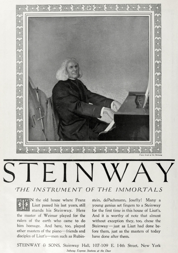 Steinway & Sons_Instrument of the Immortals - Franz Liszt - Rubicam
