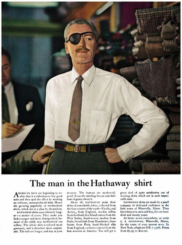 The man in the Hathaway shirt - David Ogilvy