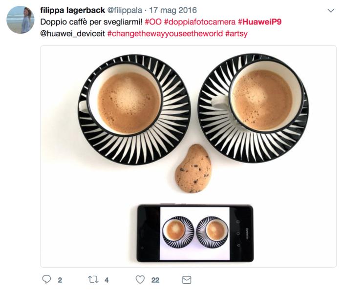 Filippa Lagerback #HuaweiP9