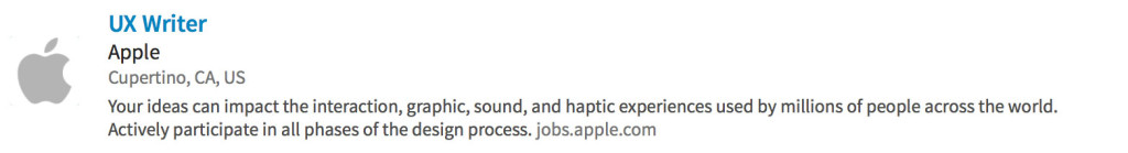 Apple-job-description
