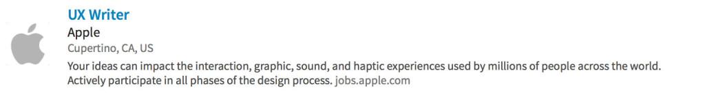 Apple-job-description