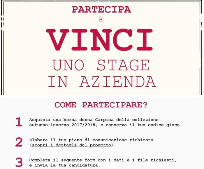 carpisa vinciconnoi contest stage