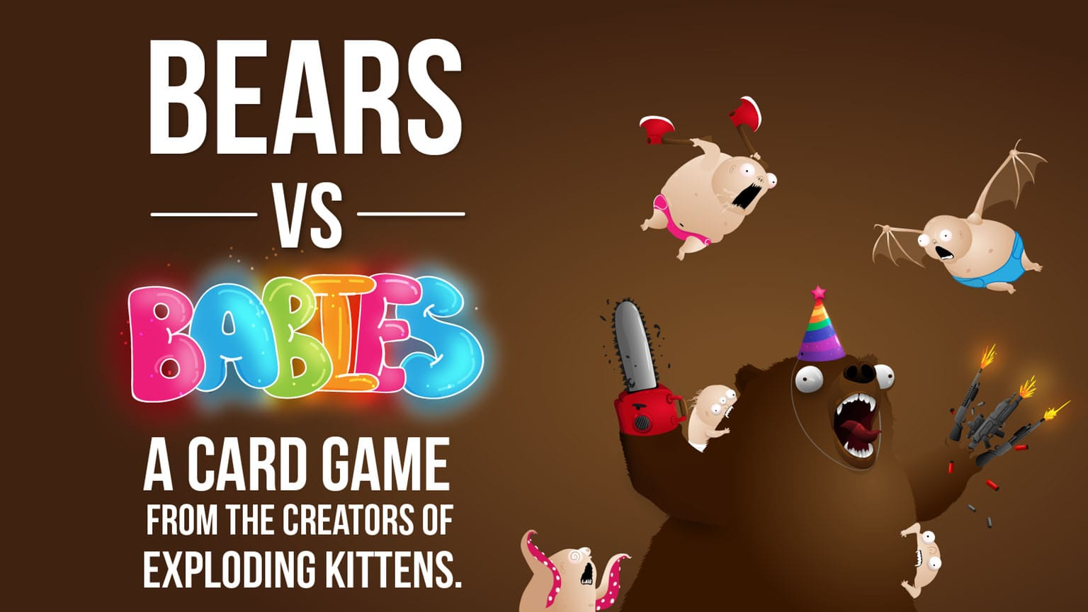 bears vs babies gioco carte
