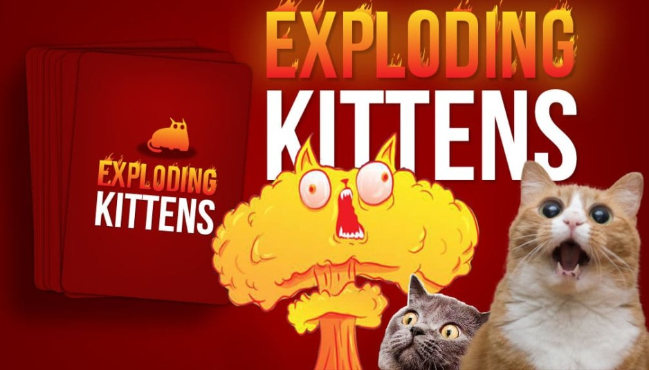 exploding kittens gattini esplosioni