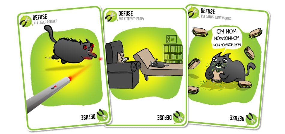 exploding kittens gattini carte