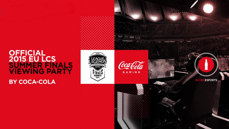 Coca Cola e gli eSports