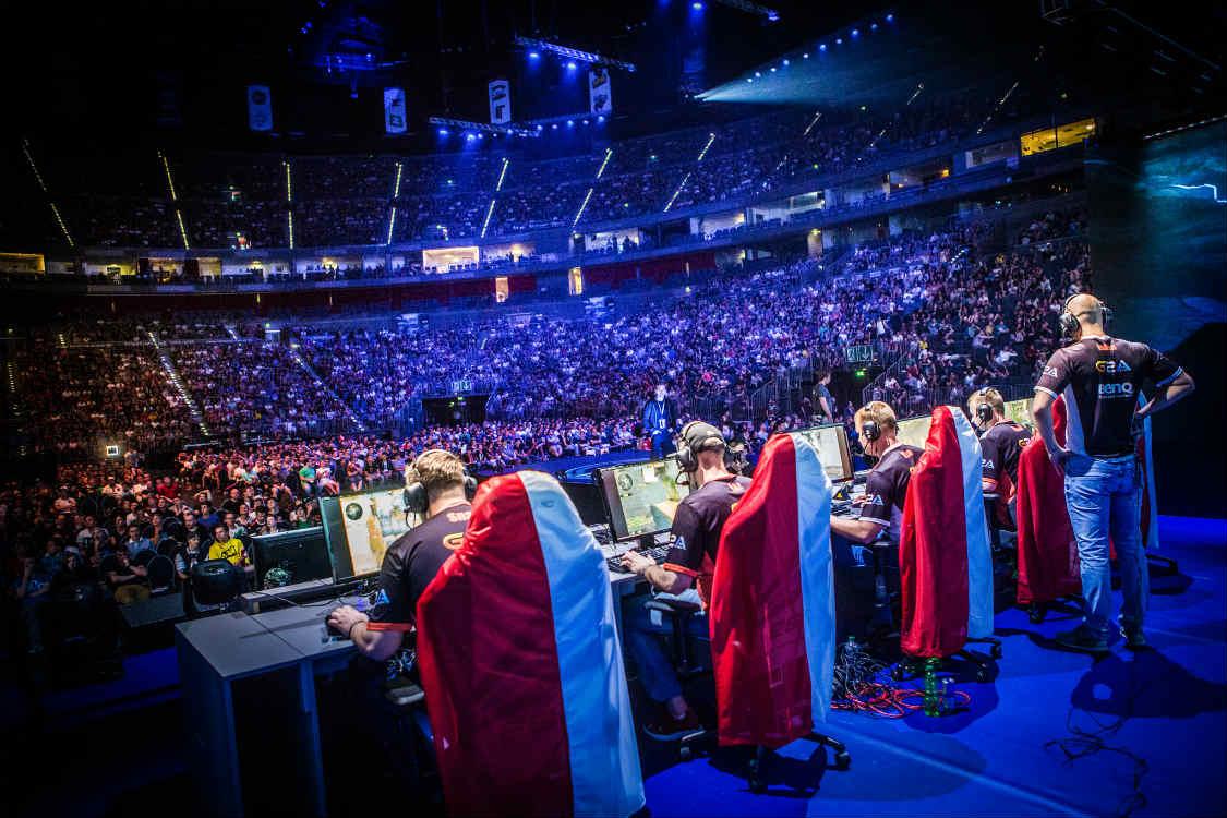 Arena di un evento eSports