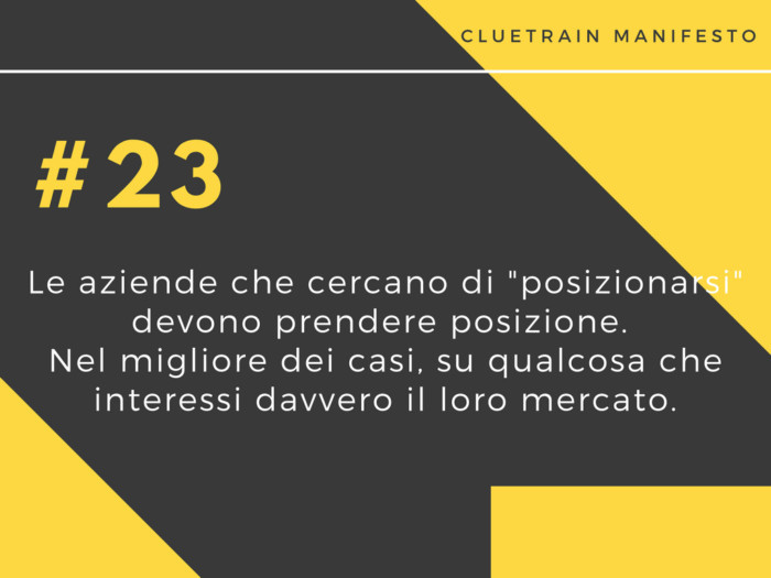 cluetrain manifesto 23