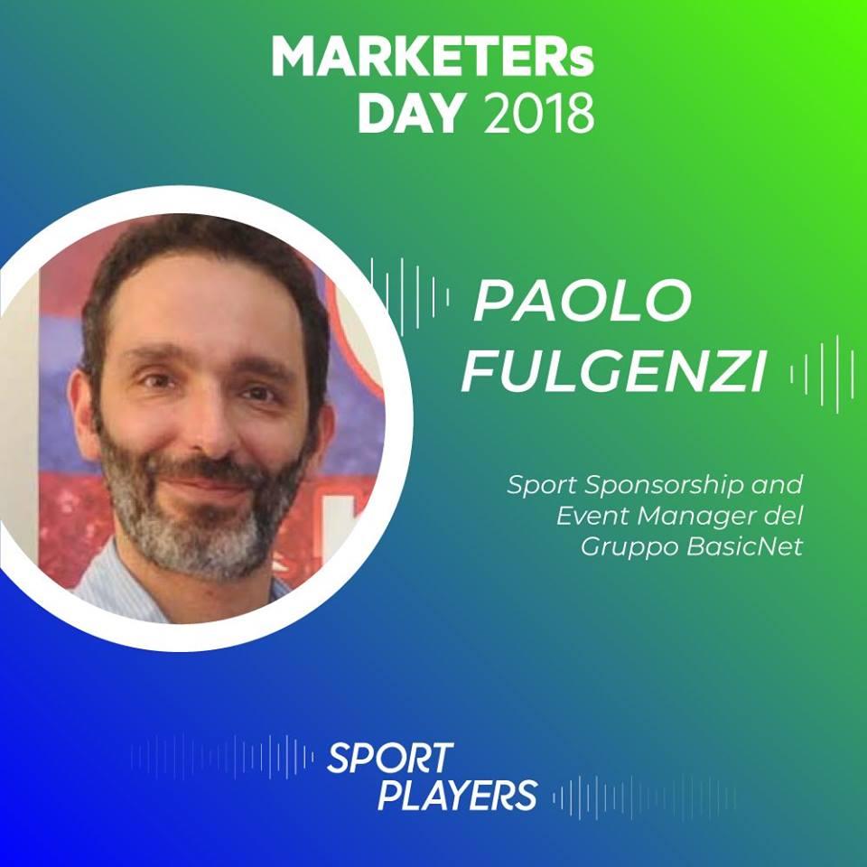 paolo fulgenzi sport sponsorship e event manager gruppo basicnet