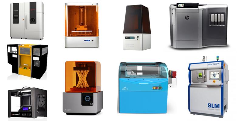 Tipi di stampanti 3D