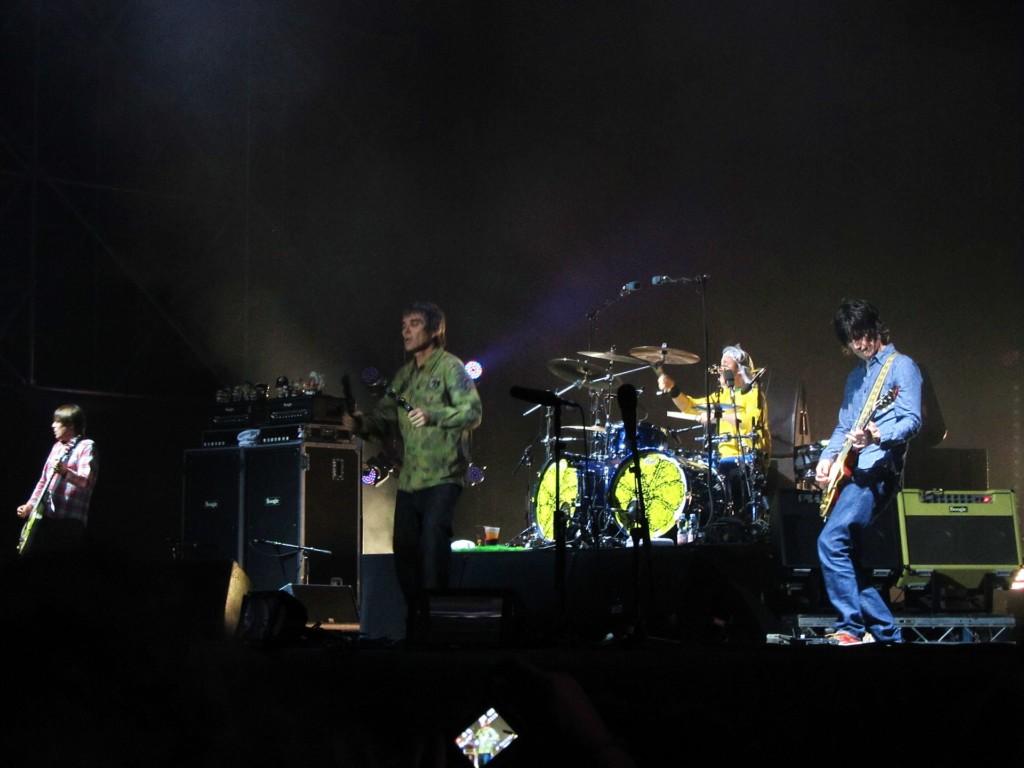Il concerto degli Stone Roses del 2012 a Milano per il Reunion Tour