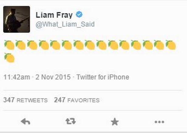 Il tweet di Liam Fray sul ritorno degli Stone Roses