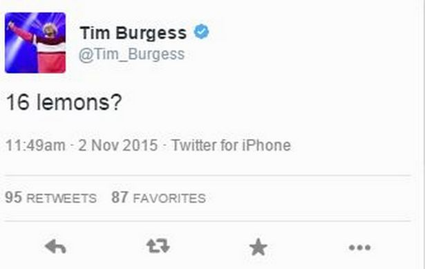 Tim Burgess - Twitter