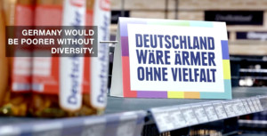 the most german supermarket edeka campagna ooh