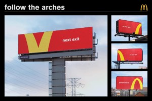 campagna mcdonald's follow the arches