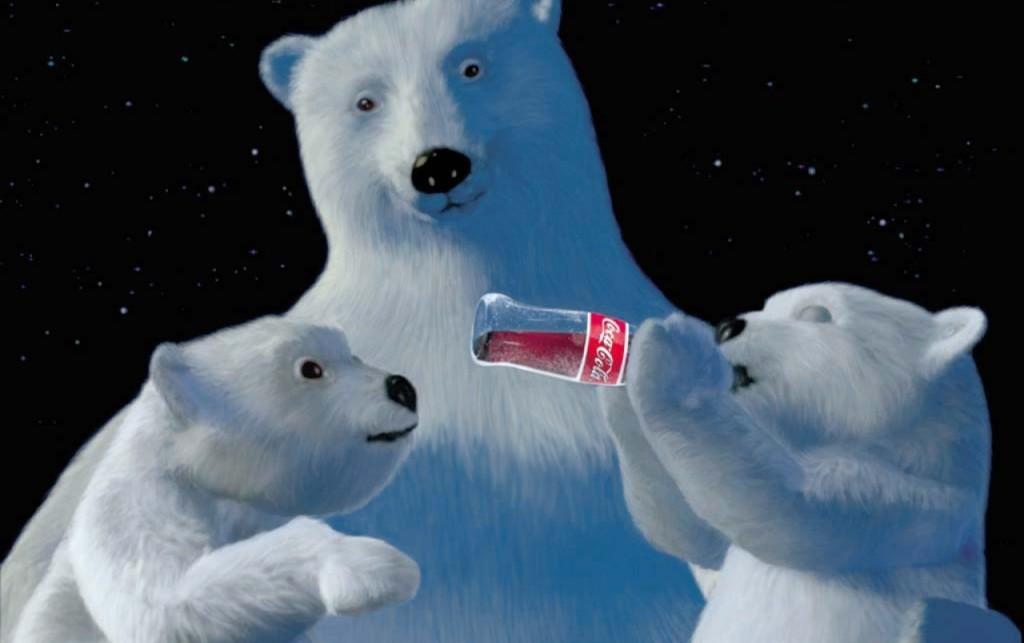 Orso polare Coca-Cola