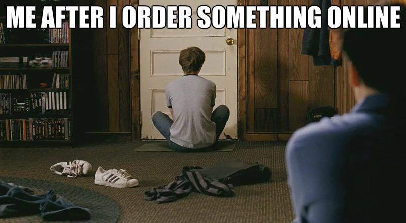 L'attesa per l'arrivo degli acquisti online