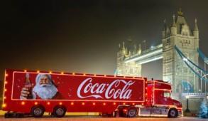 Camion Coca-Cola Londra